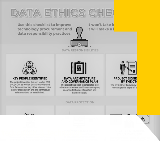 Data Ethics Checklist