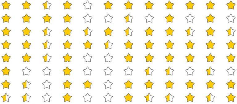 Estrellas de Quién Defiende Tus Datos